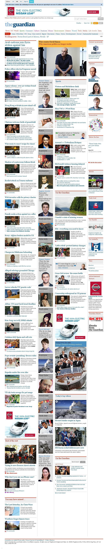 The Guardian at Sunday Sept. 28, 2014, 10:06 a.m. UTC